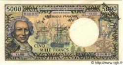 5000 Francs NOUVELLE CALÉDONIE  1971 P.62s SPL