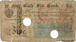 5 Pounds ANGLETERRE Bath 1841 G.0162B pr.TB