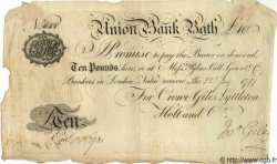 10 Pounds ANGLETERRE Bath 1797 G.0177B TTB