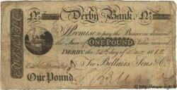 1 Pound ANGLETERRE Derby 1812 G.0984 TB