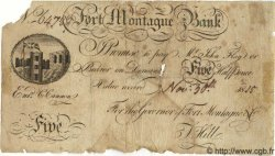 5 Pounds ANGLETERRE Fort Montague 1815 G.6095A AB