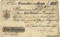 5 Guinées ANGLETERRE Gloucester 1814 G.1203C TTB