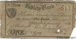 1 Pound ANGLETERRE Ludlow 1824 G.1779B B