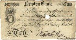 10 Pounds ANGLETERRE Newton 1840 G.2106 TTB