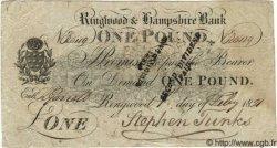1 Pound ANGLETERRE  1821 G.2412 pr.TTB