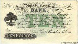 10 Pounds ANGLETERRE  1880 G.2985 pr.NEUF