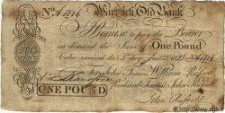 1 Pound ANGLETERRE  1823 G.3090A TB