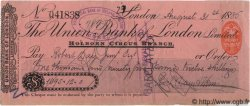 1095 Pounds, 12 Shillings ANGLETERRE  1886 P.- SUP