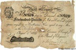 500 Pounds ANGLETERRE  1829 P.- TB+