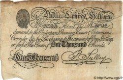 1000 Pounds ANGLETERRE  1870 P.- TTB