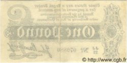 1 Pound ANGLETERRE  1914 P.347 SUP