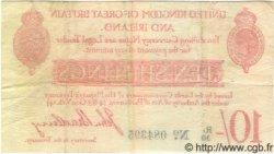 10 Shillings ANGLETERRE  1915 P.348 TTB