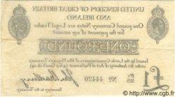 1 Pound ANGLETERRE  1914 P.349 TTB+