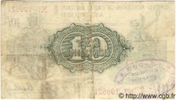 10 Shillings ANGLETERRE  1919 P.350b TB+