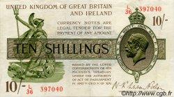 10 Shillings ANGLETERRE  1922 P.358 TTB