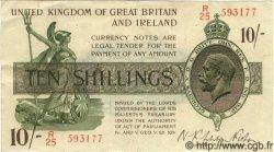 10 Shillings ANGLETERRE  1922 P.358 TTB+