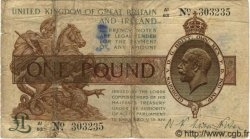 1 Pound ANGLETERRE  1923 P.359 B
