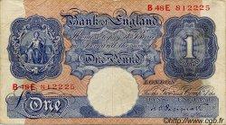 1 Pound ANGLETERRE  1940 P.367a TB+
