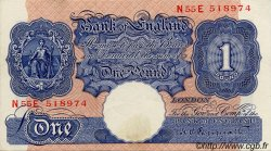 1 Pound ANGLETERRE  1940 P.367a SUP+ à SPL