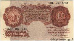 10 Shillings ANGLETERRE  1950 P.368b SUP