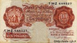 10 Shillings ANGLETERRE  1950 P.368b TB