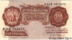 10 Shillings ANGLETERRE  1955 P.368c TTB+