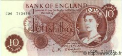 10 Shillings ANGLETERRE  1963 P.373a NEUF