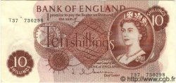 10 Shillings ANGLETERRE  1963 P.373b SUP+