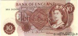 10 Shillings ANGLETERRE  1963 P.373b pr.NEUF