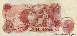 10 Shillings ANGLETERRE  1967 P.373c TTB