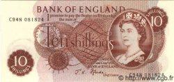 10 Shillings ANGLETERRE  1967 P.373c NEUF