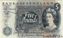 5 Pounds ANGLETERRE  1963 P.375a pr.NEUF