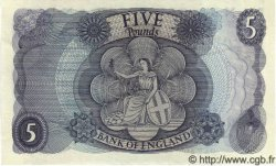 5 Pounds ANGLETERRE  1967 P.375b SPL