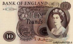 10 Pounds ANGLETERRE  1964 P.376a pr.NEUF