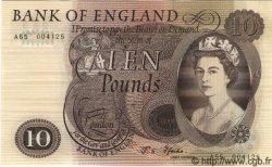 10 Pounds ANGLETERRE  1967 P.376b SPL+