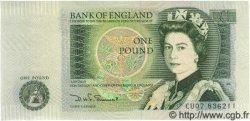 1 Pound ANGLETERRE  1981 P.377b SPL