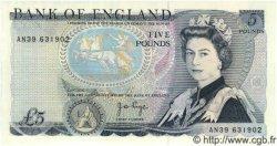 5 Pounds ANGLETERRE  1973 P.378b NEUF