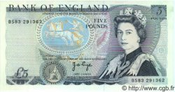 5 Pounds ANGLETERRE  1973 P.378b pr.NEUF