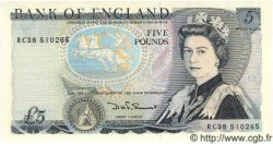 5 Pounds ANGLETERRE  1987 P.378d NEUF