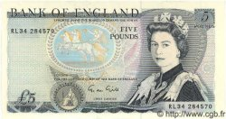 5 Pounds ANGLETERRE  1988 P.378e pr.NEUF