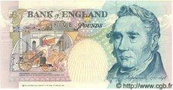 5 Pounds ANGLETERRE  1990 P.382b pr.NEUF