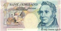 5 Pounds ANGLETERRE  1990 P.382b NEUF