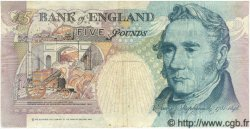 5 Pounds ANGLETERRE  1993 P.385 pr.TTB