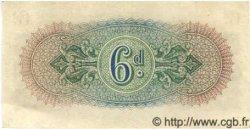 6 Pence ANGLETERRE  1943 P.M001 SUP