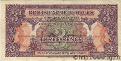 3 Pence ANGLETERRE  1946 P.M009a TTB