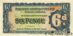 6 Pence ANGLETERRE  1948 P.M017a SUP