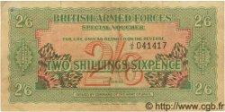 2 Shillings 6 Pence ANGLETERRE  1956 P.M028(26A) TTB
