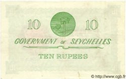 10 Rupees SEYCHELLES  1967 P.12d pr.SPL