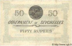 50 Rupees SEYCHELLES  1954 P.13a TTB+