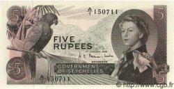 5 Rupees SEYCHELLES  1968 P.14 NEUF